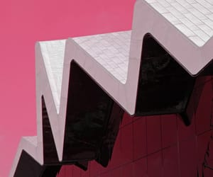 abstract photography, pink, and building image