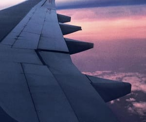 air, sky, and airport image