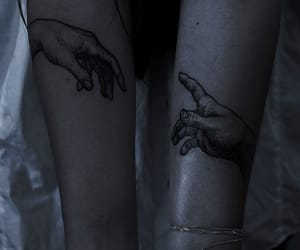 cyber, dark, and tattoo image