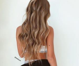 Calvin Klein, hair, and long hair image