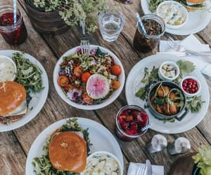food, collageontheroad, and malibufarm image