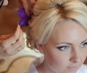 hair style, wedding hairstyles, and wedding hair image