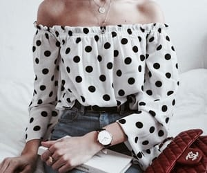 blouse, fashion, and girl image