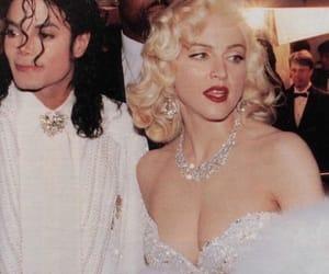 madonna, michael jackson, and 90s image