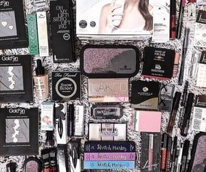 mascara, matita, and rossetto image