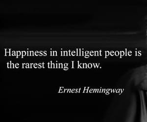 ernest hemingway and happiness image