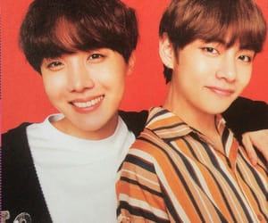 v and jhope image
