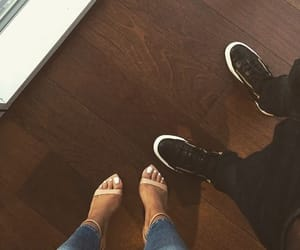 couple, shoes, and heels image