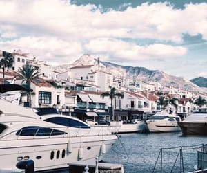 boats, harbour, and lifestyle image