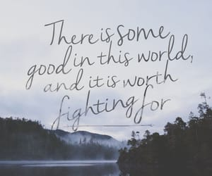 quotes, fight, and good image