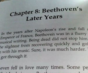 Beethoven, music, and writing image