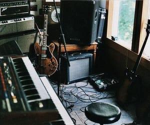 music, guitar, and studio image