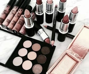 brown, Nude, and cosmetics image