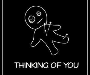 doll, funny, and thinking of you image
