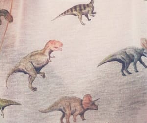 dinosaur, vintage, and cute image