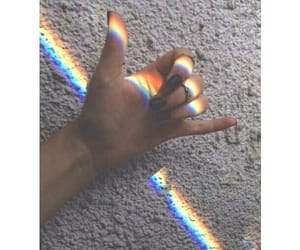 rainbow, grunge, and color image