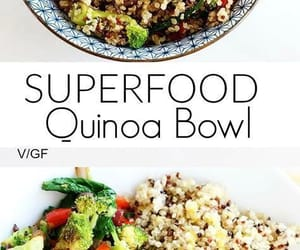 bowl, quinoa, and superfood image