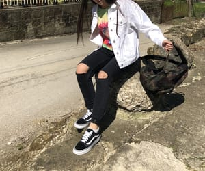 camouflage, girl, and style image