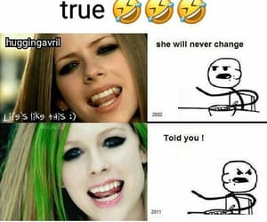Avril Lavigne, complicated, and smile image