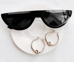 sunglasses, accessories, and earrings image