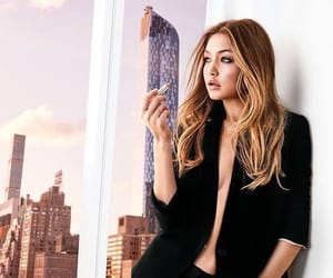 gigi hadid and Maybelline image