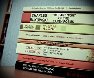books, charles bukowski, and words image