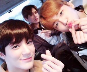 lucas, jaemin, and jeno image