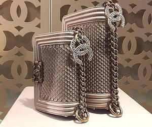 bags, beautiful, and chanel image