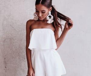 fashion, vogue, and white image