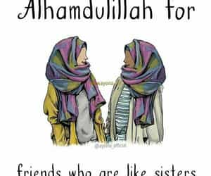 friends, islam, and patience image