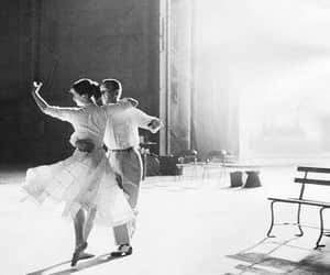 dance, audrey hepburn, and black and white image