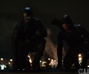 arrow, spartan, and oliver queen image