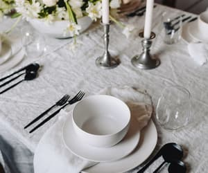 country living, interior decorating, and table setting image