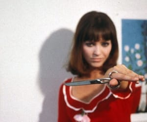 50s, movie, and pierrot le fou image