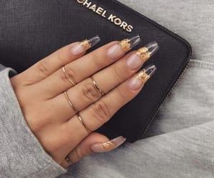 girl, nails, and baddie image