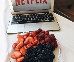 fruit, netflix, and food image