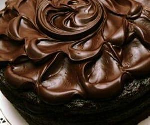 beautiful, brown, and cake image