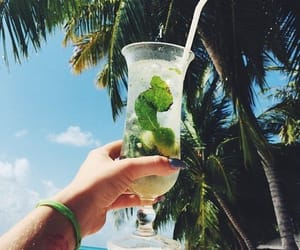 cocktail, drink, and yummy image