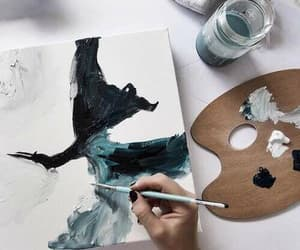 art, painting, and drawing image