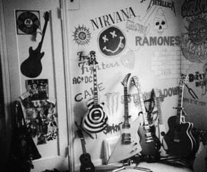 nirvana, guitar, and rock image