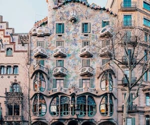 Barcelona and travel image