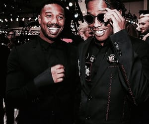 asap rocky, michael b jordan, and Hot image