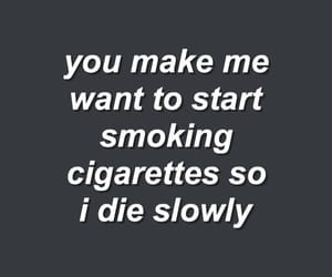 quotes, cigarette, and aesthetic image