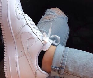 carefree, white shoes, and jeans image