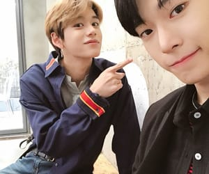 nct, lucas, and doyoung image