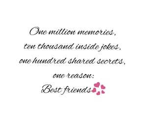 best friends, english, and memories image