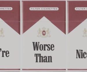 Nicotine and love image