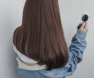 brown hair and hair image