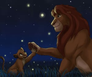 daddy, simba, and son image
