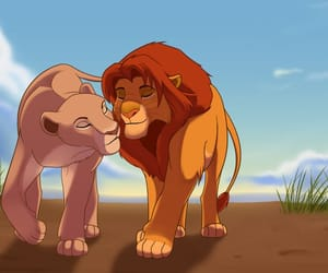 Queen, simba, and love image